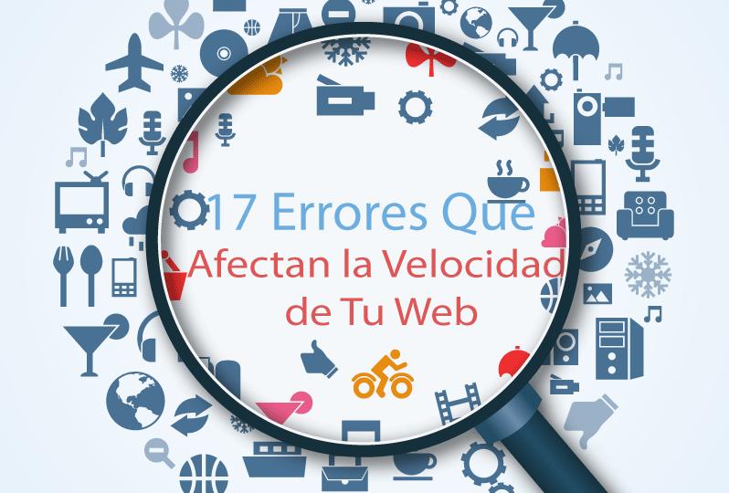 Errores de Velocidad de Sitios Web