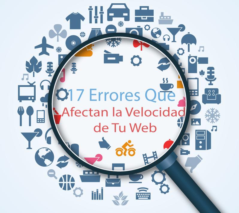 Errores de Velocidad de Sitios Web ms Comunes