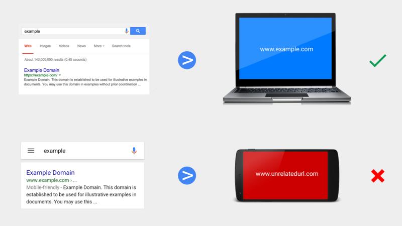Google Advierte a los Webmasters No Usar Redireccionamiento Móvil